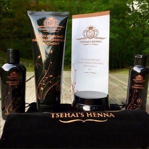 Tsehai's Henna Photochromic Hair Treatment